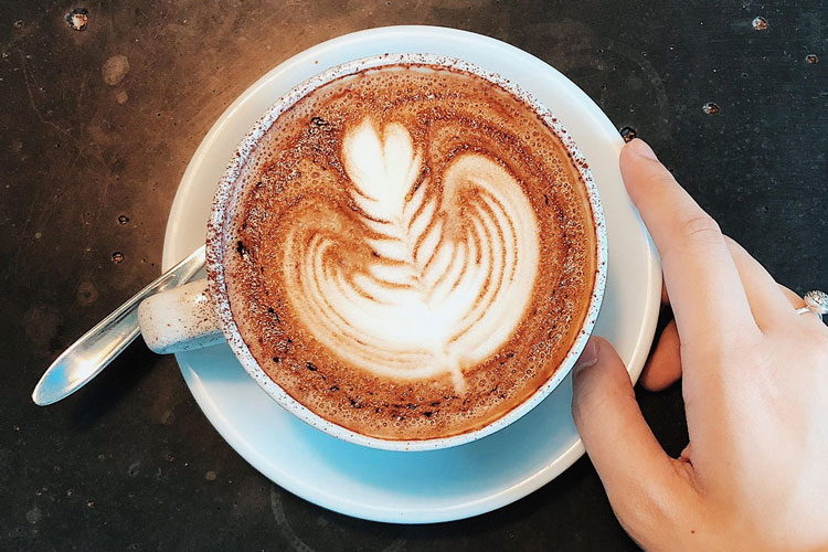 What do people think about caffeine in espresso?